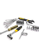 STANLEY Metric Polished Double Open Wrench 43 Pieces 6.3MM Manual Tool Set