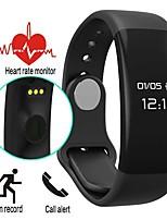 Men's Women's  Smart Watch Bracelet IP67 Waterproof Swim Bluetooth 4.0 Touch Screen Heart rate Passometer Smart Wristband