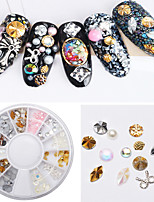1PC Alloy Hollow Out Acrylic Nail Art Act The Role Ofing is Tasted
