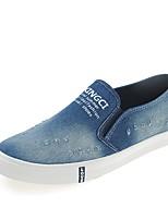 -Для женщин-Для прогулок Повседневный-Полотно-На плоской подошве-Удобная обувь-Мокасины и Свитер