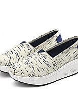 Women's Sneakers Spring Comfort Canvas Casual Blue Red White