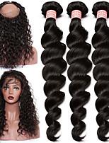 One Pack Solution Малазийские волосы Свободные волны 12 месяцев 4 предмета волосы ткет