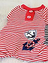 Chien Combinaison-pantalon Vêtements pour Chien Eté Printemps/Automne AmourMignon Mode Décontracté / Quotidien Sportif Classique Mariage