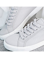 Men's Sneakers Spring Comfort Canvas Tulle Casual Gray Black White