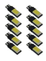 10pcs T10 COB Width Lamp W5W 6000K Canbus Car Interior Light DC9-12V