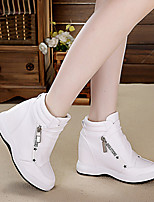 Women's Sneakers Spring Comfort PU Leather Casual
