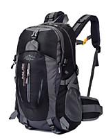 Men Sports & Leisure Bag Nylon All Seasons Sports Outdoor Professioanl Use Camping & Hiking Climbing Zipper Green Black Ruby