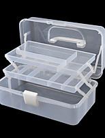 Ornament Tool Storage Box White Plastic Box Storage Box