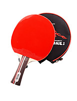 1 Etoile Ping Pang/Tennis de table Raquettes Ping Pang Bois Long Manche Boutons