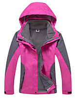 Women's 3-in-1 Jackets New Style Waterproof Breathable Thermal Windproof Fleece Lining