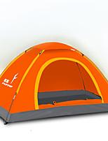 LYTOP/飞拓 3-4 человека Световой тент Один экземляр Складной тент Однокомнатная Палатка Стекловолокно ОксфордВодонепроницаемый