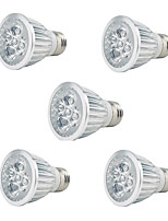5pc 5W E27 LED Grow Lights 3Red 2Blue Grow Lamp for Flowering Plant and Hydroponics System AC85-265V