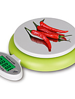 1Pcs   Practical 5Kg/1G Lcd Display Digital Scales Food Kitchen Scale Electronic Diet Balance Weight Tool Led Scale