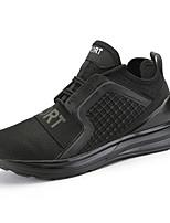 Для мужчин Спортивная обувь Удобная обувь Ткань Лето Осень Для прогулок Повседневный Для занятий спортом Беговая обувь ШнуровкаНа плоской