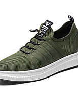 Men's Sneakers Fall Comfort PU Outdoor Flat Heel Lace-up