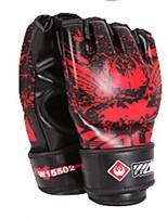Боксерские перчатки Тренировочные боксерские перчатки для Бокс Без пальцев Защитный PU Губка