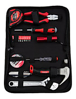 WORKPRO  W1219 Household Hand Tools Set 19 Piece Zipper Bag