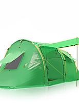 5-8 человек Световой тент Один экземляр Туристические палатки Однокомнатная Палатка >3000mm СтекловолокноВлагонепроницаемый