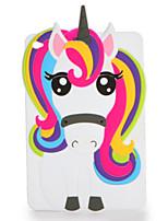 Para o ipad da maçã mini 123/4 caso cobrem a caixa da tampa traseira do teste padrão o silicone macio dos desenhos animados 3d