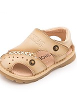 Girls' Sandals Summer First Walkers Leatherette Casual Flat Heel