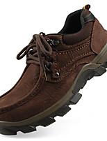 Мужские оксфорды осень зима формальная обувь наппа кожа открытый офис&Карьера участника&Вечерний случайный