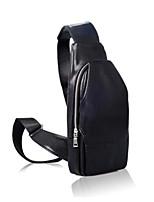 Men PU Outdoor Sling Shoulder Bags Brown Black Pool