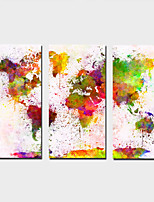 Stretched Canvas Print Landscape Modern,Three Panels Canvas Any Shape Print Wall Decor For Home Decoration