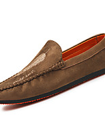 Men's Oxfords Spring Fall Moccasin Suede Outdoor Flat Heel Walking