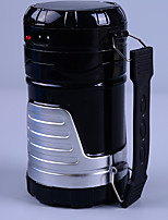 Lanternes & Lampes de tente LED Lumens Mode AA Rechargeable bekalan kuasa mudah alihCamping/Randonnée/Spéléologie Chasse Escalade