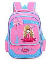 Kids Backpack Nylon All Seasons Formal Blue Blushing Pink Fuchsia Light Blue