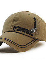 Unisex Women Men's Cotton Baseball/Peaked/Alpine Cap Sun Hat Vintage Casual  Embroidery Outdoors Sports Summer Army Green/Beige/Black/Blue/Grey