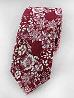 Men's  Fashion Narrow Cotton Tie (6CM)
