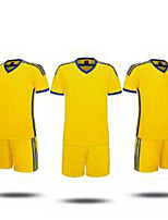Homme Football Maillot + Short/Maillot+Cuissard Respirable Classique Polyester Football