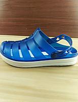 Homme-Décontracté--Talon Plat-trou Chaussures-Mocassins et Chaussons+D6148-Gomme