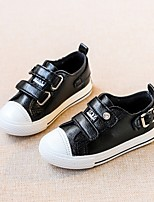 Boys' Sneakers Spring Fall Comfort PU Casual Flat Heel Blushing Pink Black White