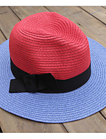 Men And Woman Summer Straw Cowboy Hat Folding Beach Hat Large Brimmed Hat Sun Cap Bucket Hat