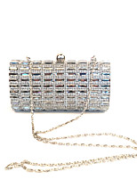 Women Shining Glass Stone Clutches Evening Bag