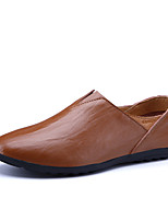 Men's Loafers & Slip-Ons Spring Fall Moccasin Cowhide Casual