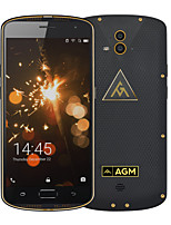 Original AGM X1 IP68 Waterproof 64GB ROM 4GB RAM 5400mAh Dual camera Qualcomm Octa Core Rugged smartphone OTG NFC Fingerprint