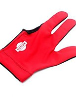 Full-finger Gloves Unisex Moisture Permeability Elastane Yellow Red Blue