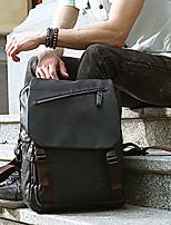 Men Backpack PU All Seasons Formal Sports Casual Outdoor Office & Career Shopping Bucket Zipper Gray