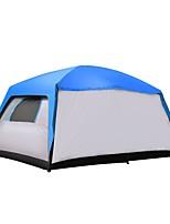 CAMEL > 8 personnes Double Tentes Familiales Deux pièces Trois pièces avec vestibule Tente de camping 2000-3000 mmRespirabilité