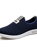 Men's Loafers & Slip-Ons Spring Summer Comfort Customized Materials Tulle Outdoor Athletic Casual Flat Heel Braided Strap
