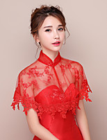 Women's Wrap Capelets Lace Wedding Party/Evening Appliques