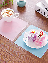 1Pcs Cute Cartoon Multi-function Silicone Wrap And The Refrigerator Microwave Bowl Of Transparent Cover Gasket Color Random