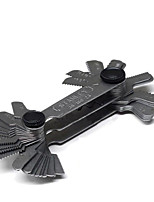 Sata резьбовой калибр 52 штуки 0,25-6,00 мм 4-62tpi 36-166-23 измерительный инструмент