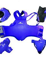 Защита грудной клетки для Тхэквондо Бокс Для мужчин Защитный ПУ (полиуретан)