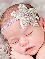 Girls European And American Popular Hair Accessories With High Quality Diamond Star Flower Hair Band
