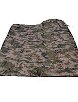 Schlafsack Rechteckiger Schlafsack Einzelbett(150 x 200 cm) -5 Hohlbaumwolle75 Camping Reisen Drinnen Draußen Wasserdicht Atmungsaktivität