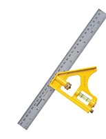 Stanley® 300mm 90 Degree L Shape Steel Square Ruler Tool